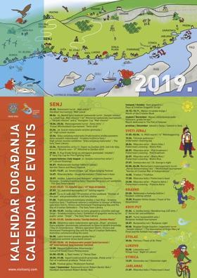 Kalendar događanja 2019.