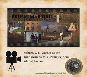 Bruški martirij - plakat Senj 1